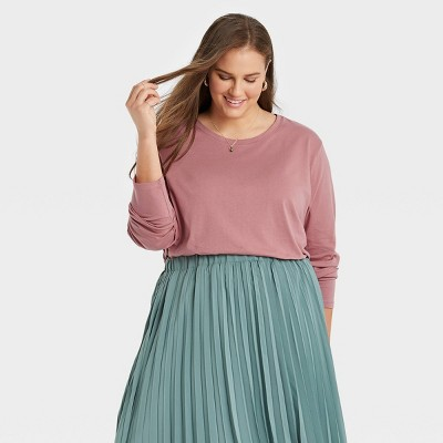 Women's Long Sleeve Supima T-Shirt - A New Day™