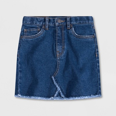 Levi's® Girls' Jean Skirt - Richards Dark Wash