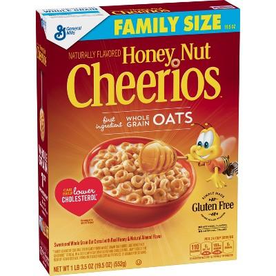 Cheerios Honey Nut Breakfast Cereal - 19.5oz - General Mills