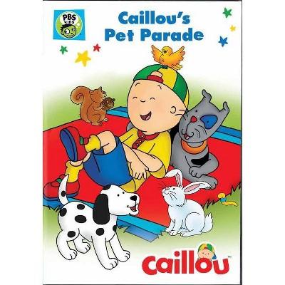 Caillou: Caillou's Pet Parade (DVD)(2016)
