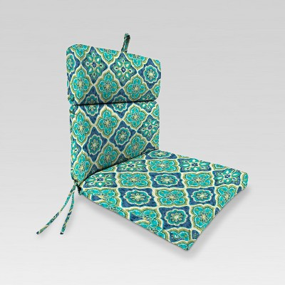 Outdoor French Edge Dining Chair Cushion - Jordan Manufacturing
