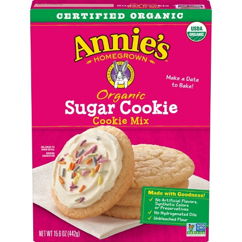 Annie's Organic Sugar Cookie Mix - 15.6oz - image 1 of 3