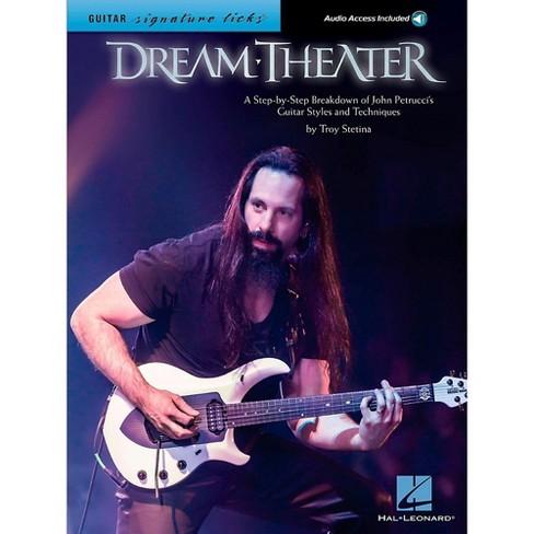 Hal Leonard Dream Theater Guitar Signature Licks - Breakdown of John Petrucci's Styles and Techniques Book/Audio Online - image 1 of 1
