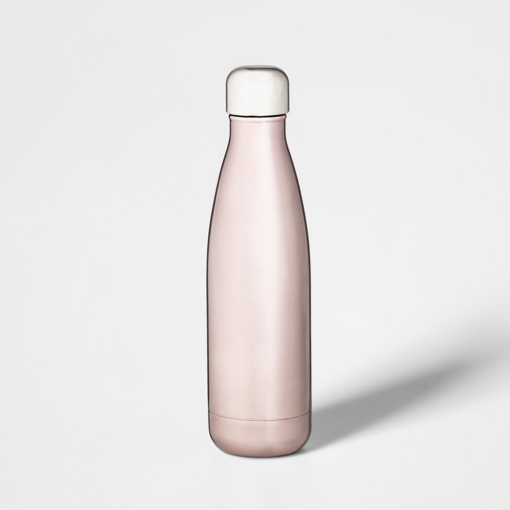 17oz Stainless Steel Hydration Bottle Light Pink - Threshold