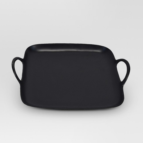 Square Metal Tray - Black - Project 62™ - image 1 of 1