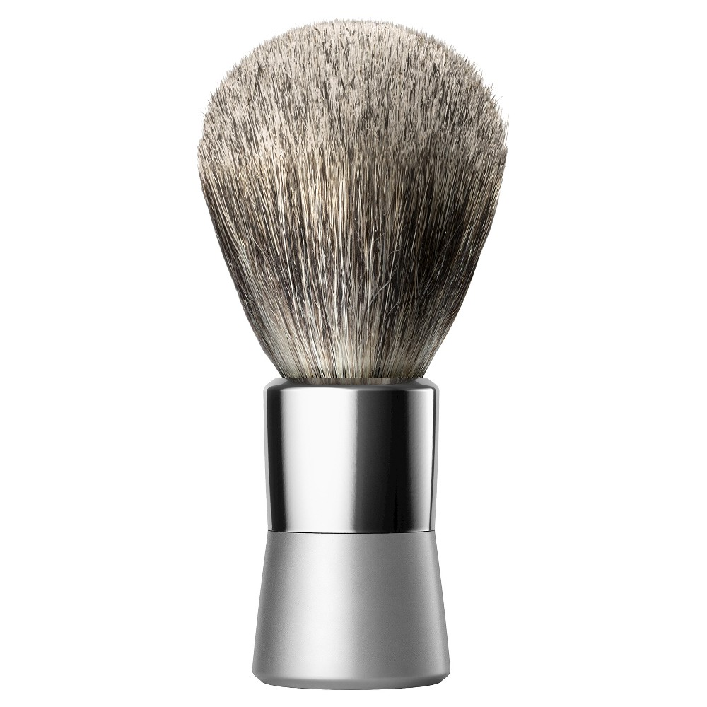 The metallic Shaving Brush from Bevel brings the Bevel shave cream to a lather while lifting your facial hair away from your skin for a smooth shave. This badger hair shave brush also acts as a gentle exfoliator while it applies your shave gel. Use your Bevel Badger Brush with the rest of the Bevel Shave System for a consistently smooth shave. Gender: 0482Men.