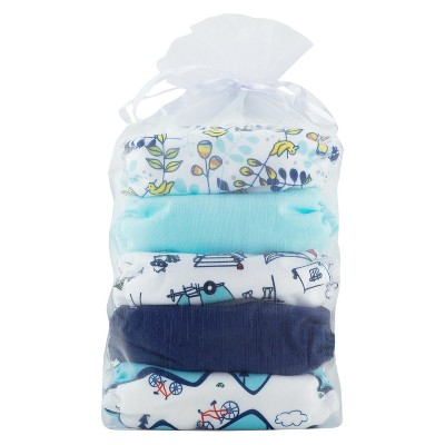 Thirsties Natural All-in-One Snap Outdoor Adventure Diaper Collection, One Size - Birdie