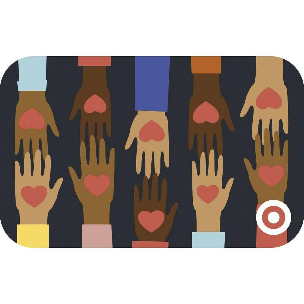 Heart Hands Target Giftcard 100