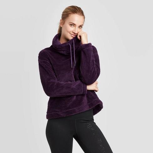 Women's Cozy Holiday Fleece Pullover - C9 Champion® - image 1 of 2