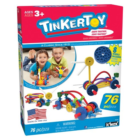 K'Nex Tinkertoy Whild Wheels Building Set - image 1 of 6
