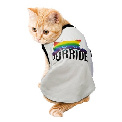 Purride Pride Dog and Cat Tank Shirt - White - Boots & Barkley™