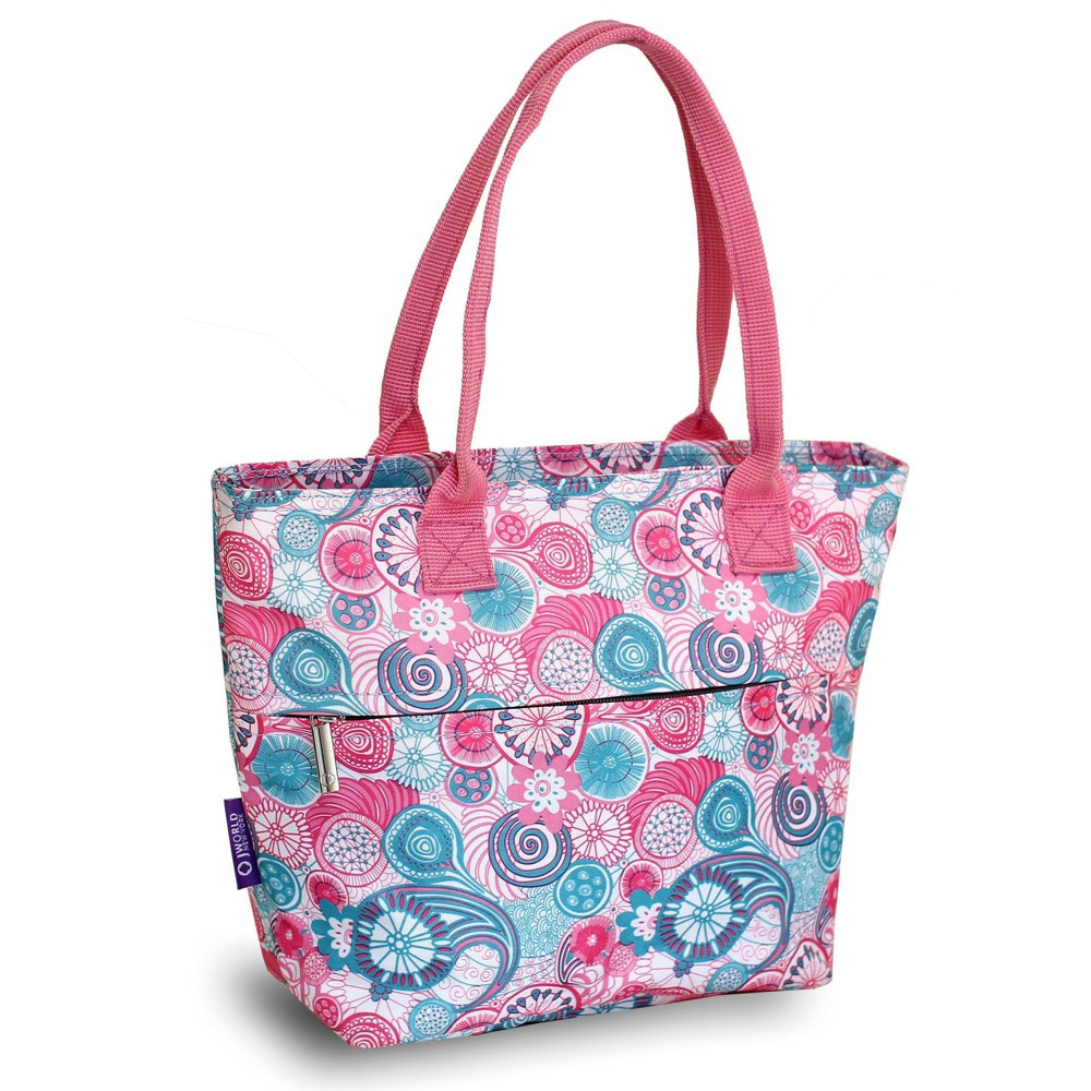 J World Lola Lunch Tote With Back Pocket Blue Raspberry