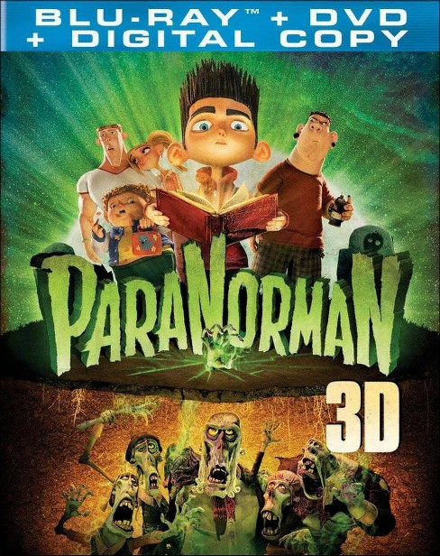 ParaNorman [3 Discs] [Includes Digital Copy] [UltraViolet] [2D/3D] [Blu-ray/DVD] - image 1 of 1