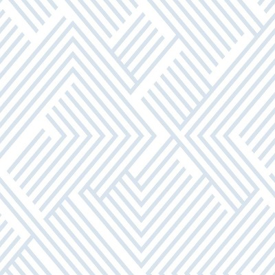 "RoomMates 28.2"" Perplexing P&S Wallpaper Silver"