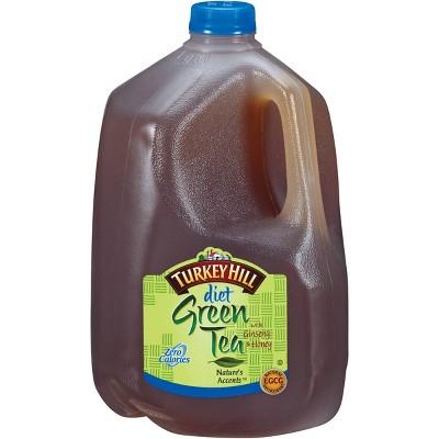 Turkey Hill Diet Green Tea with Ginseng & Honey - 1gal