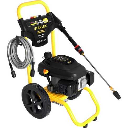 Stanley 2.4 Gpm 3100 Psi Gas Power Portable High Pressure Washer Surface Cleaner - image 1 of 1