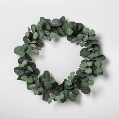 14  Faux Eucalyptus Wreath 14  - Hearth & Hand™ with Magnolia