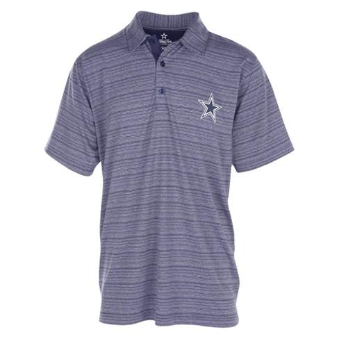 best service 1de1d af3dc Dallas Cowboys Men s Spacedye Polo Shirt