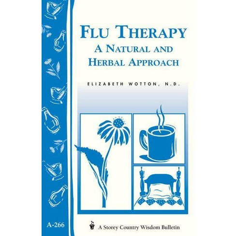 Flu Therapy: A Natural and Herbal Approach - (Women's Edge Health Enhancement Guide) (Paperback) - image 1 of 1