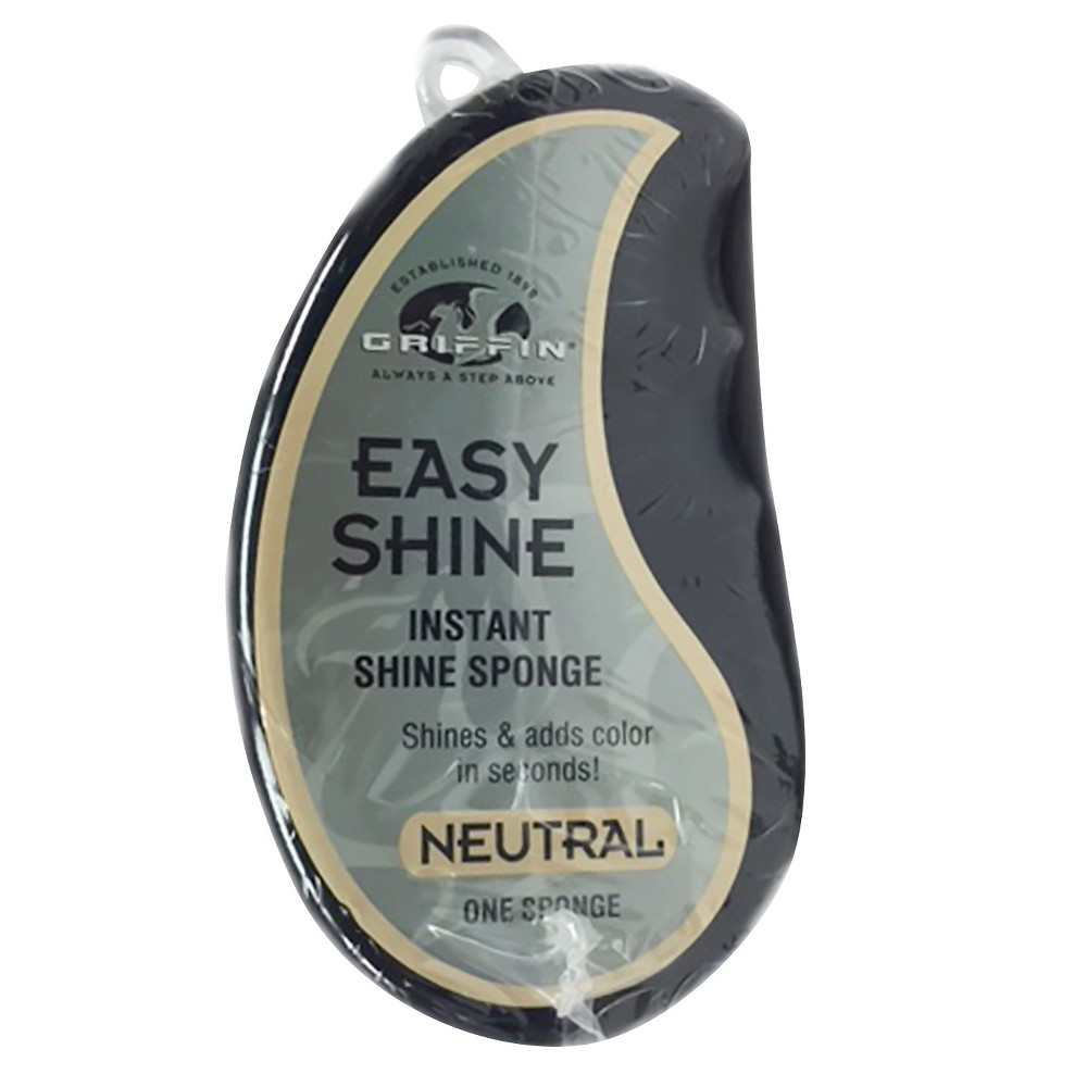 Image of Griffin Easy Shine Instant Shoe Sponge - Clear