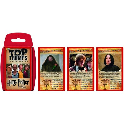 Top Trumps Harry Potter and the Goblet of Fire Top Trumps Card Game
