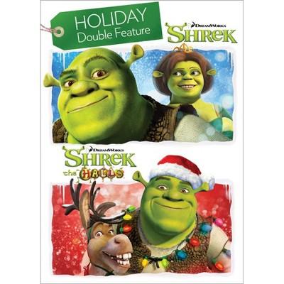 Shrek/Shrek the Halls - Holiday Double Feature (DVD)