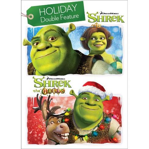 Shrek Christmas.Shrek Shrek The Halls Holiday Double Feature Dvd