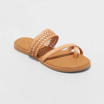 Women's Lissie Woven Toe Ring Slide Sandals - Universal Thread™