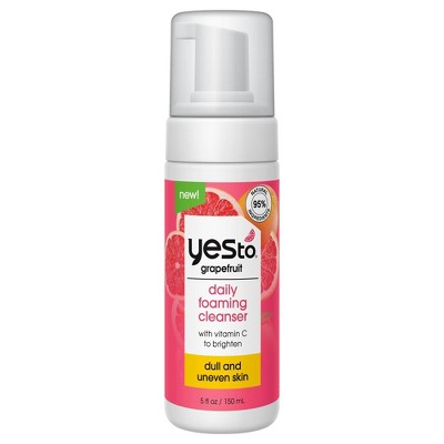 Yes To Grapefruit Daily Foaming Facial Cleanser - 5 fl oz