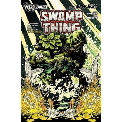 Swamp Thing, Volume 1 - (Swamp Thing (DC Comics)) by  Scott Snyder (Paperback) - image 1 of 1