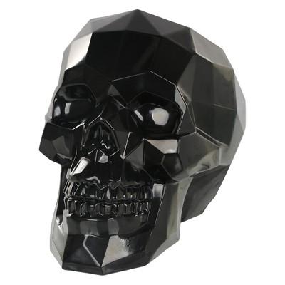 Large Halloween Crystal Skull Black - Hyde and Eek! Boutique™