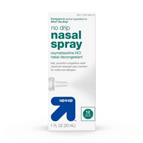 No Drip Nasal Decongestant Spray - 1 fl oz - Up&Up™ - image 1 of 4