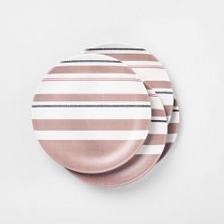 Melamine Multi Stripe Salad Plate - Hearth & Hand™ with Magnolia