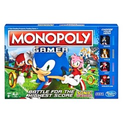 Monopoly Gamer Sonic the Hedgehog Board Game