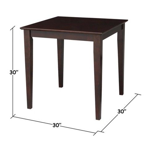 Solid Wood Dining Table - International Concepts - image 1 of 4