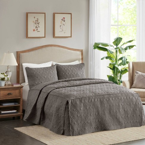 Vancouver 3 Piece Fitted Bedspread Set Target