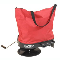 Earthway 2750 Hand Crank Nylon Bag Fertilizer Seed Salt Spreader