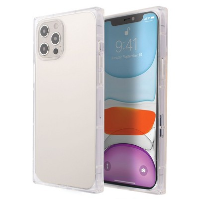 Insten Square Case for iPhone, Soft TPU Protective Cover