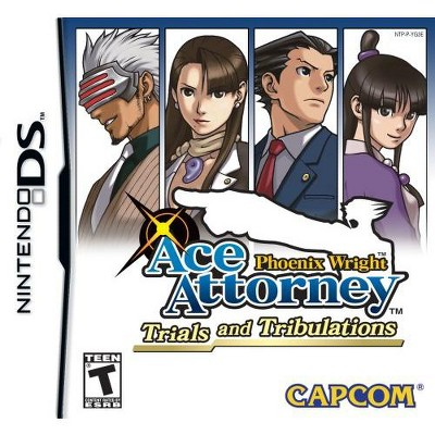 Phoenix Wright Trials and Tribulations NDS