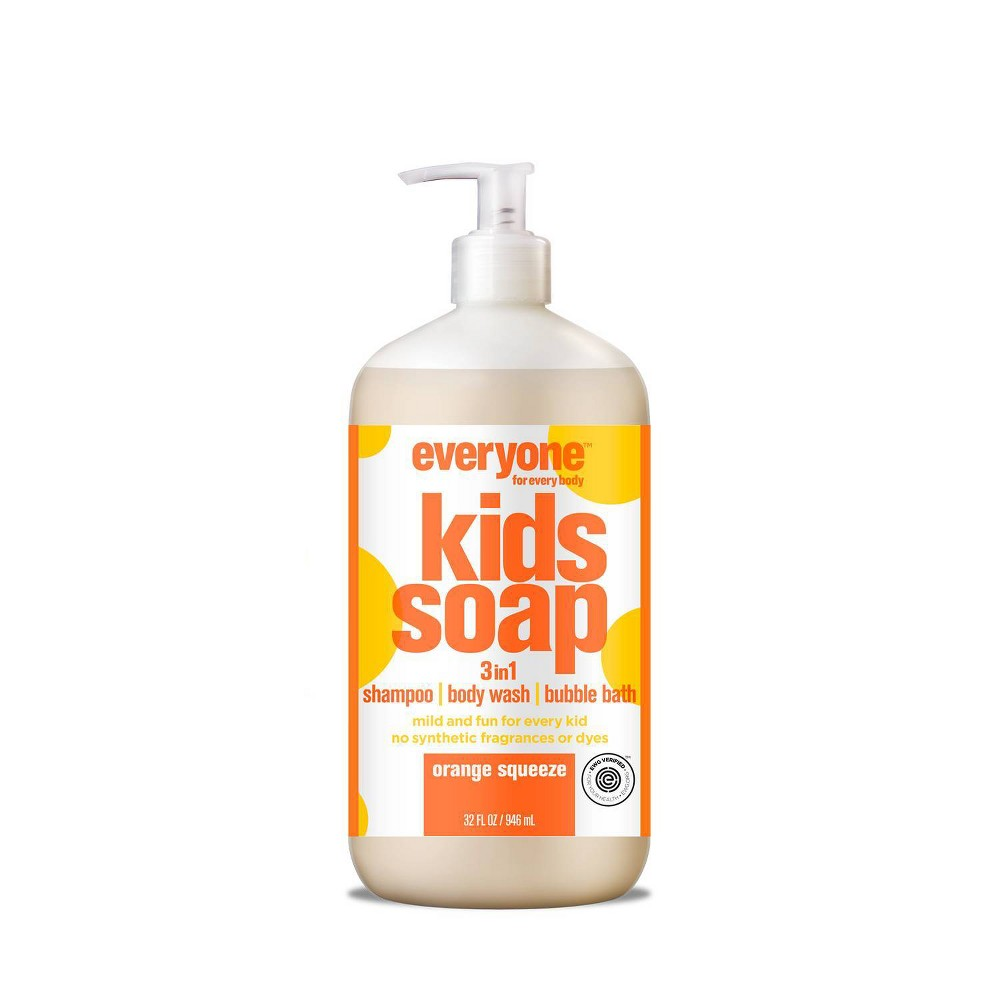 Image of Everyone Kids Orange Squeeze Soap - 32.0 fl oz, Size: 32 fl oz