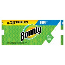 Bounty Select-a-Size Paper Towels - 8 Triple Rolls