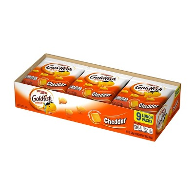 Crackers: Goldfish Snack Packs