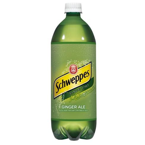Schweppes Ginger Ale - 1 L Bottle - image 1 of 2