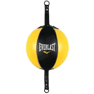 Everlast Professional Leather Double End Bag - Yellow