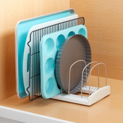 YouCopia Kitchen Bakeware Organizer for Cabinet