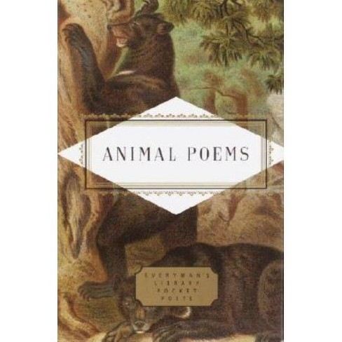 Animal Poems - (Everyman's Library Pocket Poets) by  John Hollander (Hardcover) - image 1 of 1