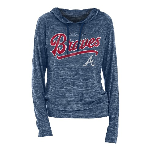 new concept 95c9c 347d9 MLB Atlanta Braves Women's Spacedye Lightweight Hoodie