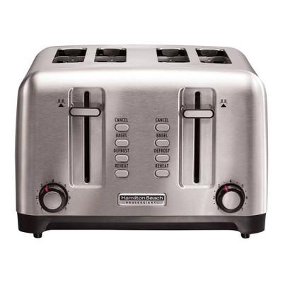 Hamilton Beach Professional 4-Slice Toaster - Silver