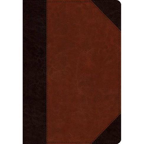 ESV Student Study Bible (Trutone, Brown/Cordovan, Portfolio Design) - (Leather_bound) - image 1 of 1