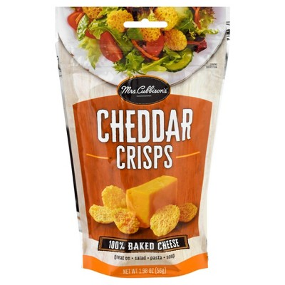 Mrs. Cubbison's Cheddar Baked Cheese Crisps - 1.98oz